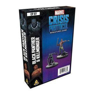 Marvel: Crisis Protocol - Black Panther & Killmonger Character Pack (Inglés)