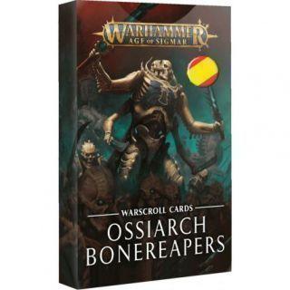 WARSCROLLS: OSSIARCH BONEREAPERS (ESP)
