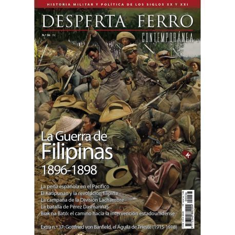 Contemporánea 36. La Guerra de Filipinas 1896-1898