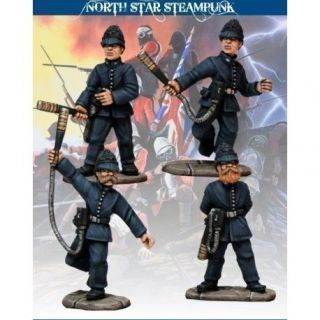 Bobbies with Static Truncheons