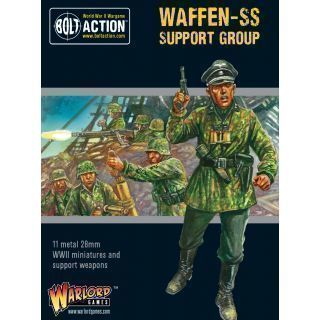 Waffen-SS Support Group (HQ, Mortar & MMG)
