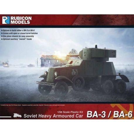 BA-3 / BA-6 Heavy Armoured Car