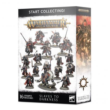 START COLLECTING. SLAVES TO DARKNESS