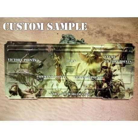 Custom Full Color Control Console