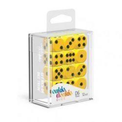 Dados D6 Sólidos - Amarillo (16mm)