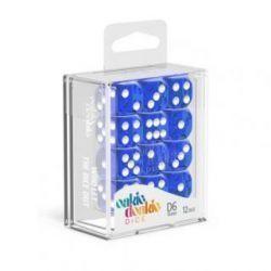 Dados D6 Translúcidos - Azul (16mm)