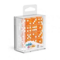 Dados D6 Translúcidos - Naranja (16mm)