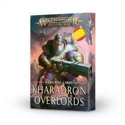 WARSCROLLS: KHARADRON OVERLORDS (ESP)