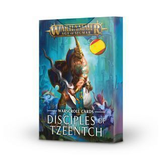 WARSCROLLS: DISCIPLES OF TZEENTCH ESP