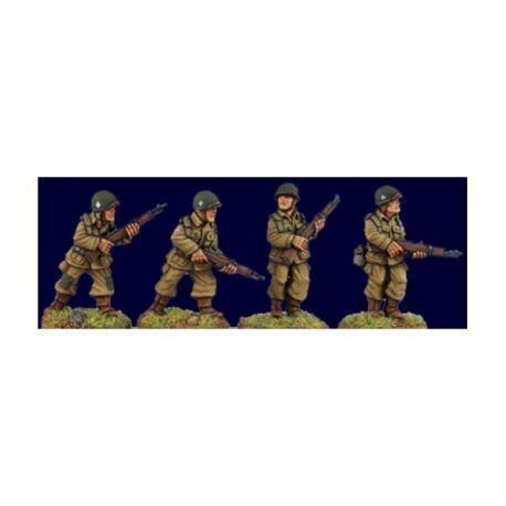 US Airborne Riflemen