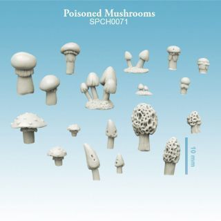 Poisoned Mushrooms