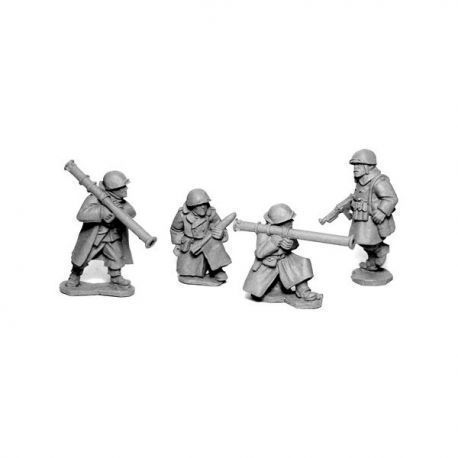 US Infantry in Greatcoats Bazooka Team