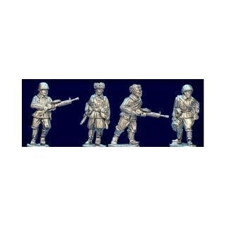 Soviet Riflemen LMG