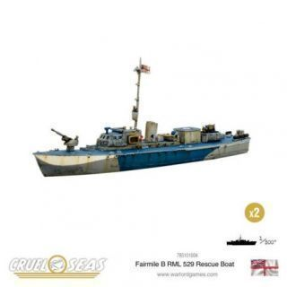 Fairmile B RML 529 Rescue Boat