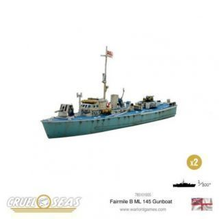 Fairmile B ML 145 Gunboat