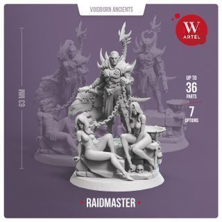 Raidmaster + 4 Slaves (2 Female and 2 male)