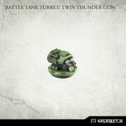Battle Tank Turret: Twin Thunder Gun (1)