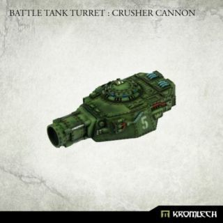 Battle Tank Turret: Crusher Cannon (1)