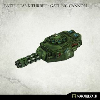 Battle Tank Turret: Gatling Cannon (1)