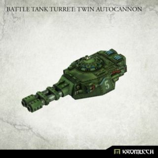 Battle Tank Turret: Twin Autocannon (1)