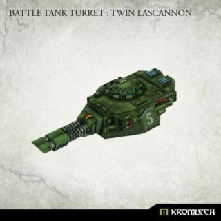 Battle Tank Turret: Twin Lascannon (1)