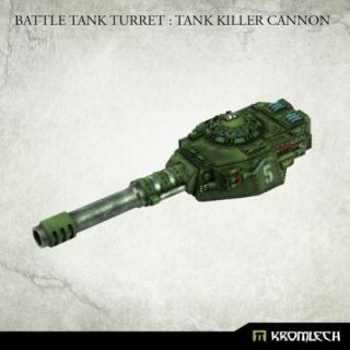 Battle Tank Turret: Tank Killer Cannon (1)