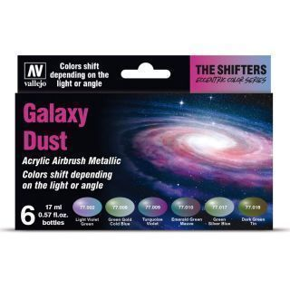 Galaxy Dust (6 x 17 ml./0.57 fl.oz.)