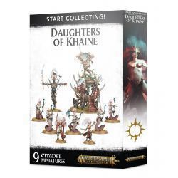 START COLLECTING. DAUGHTERS OF KHAINE