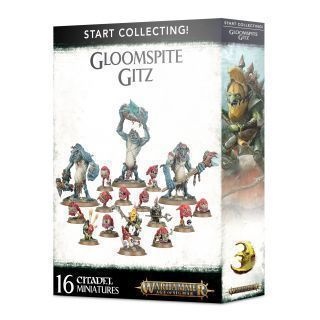 START COLLECTING. GLOOMSPITE GITZ