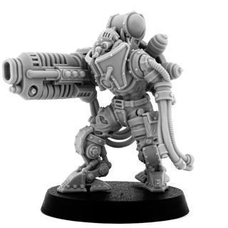 MECHANIC ADEPT BATTLE SERVITOR WITH PLASMA CANNON (HM)
