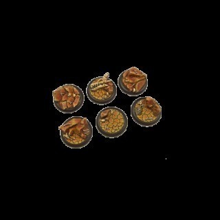 Troglodyte Bases, WRound 40mm (2)