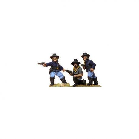 7th Cavalry w/pistols (foot)