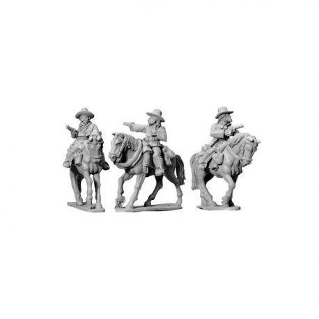 7th Cavalry w/ Pistols (Mtd)