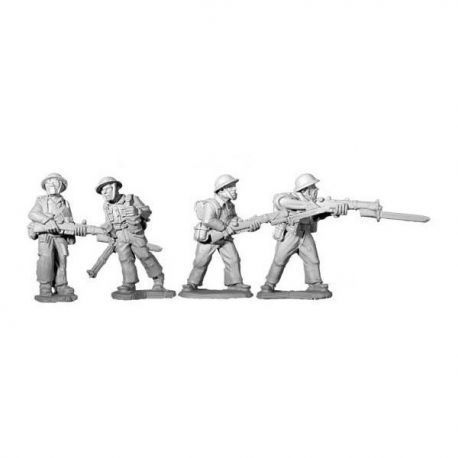 British 8th Army Riflemen