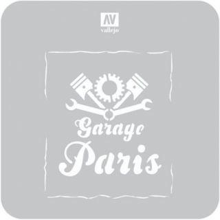 Rótulo de Garaje Vintage