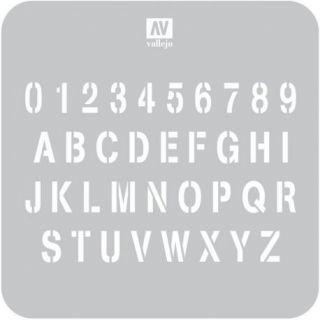 Alfabeto de Estampación