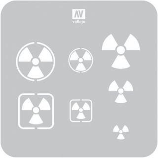 Símbolos de Radioactividad