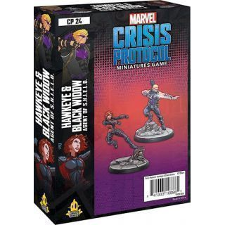 Marvel Crisis Protocol: Hawkeye & Black Widow