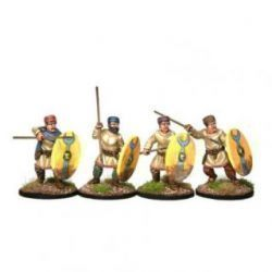 Late Roman Unarmoured Infantry in Hats