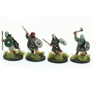 Irish Fianna with Hand Weapons 2