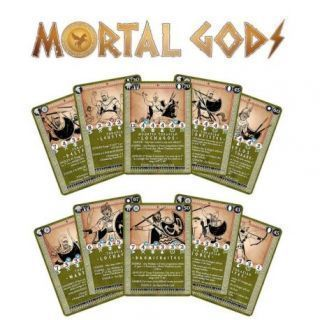 Thrakian Roster and Gifts Card Set