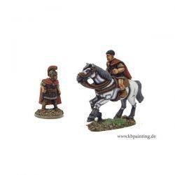 Roman General, Foot and Mounted