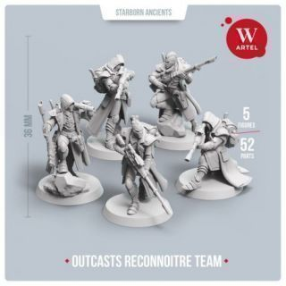 Outcasts Reconnoitre Team