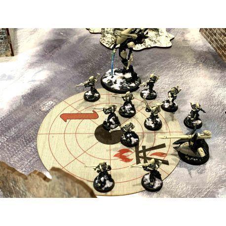 Objective Areas Cabala Warriors 9ed