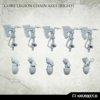 Gore Legion Chain Axes [right] (5)