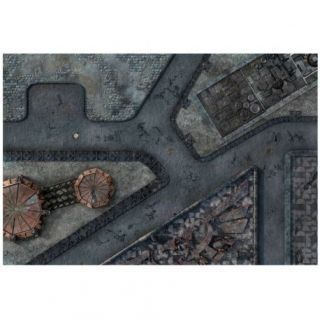 9ED 44'x30' Imperial City 1 Compatible with Warhammer, Warhammer 40K and other Wargames