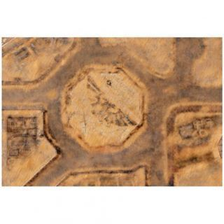 9ED 44'x30' Imperial City Desert 2 Compatible with Warhammer, Warhammer 40K and other Wargames