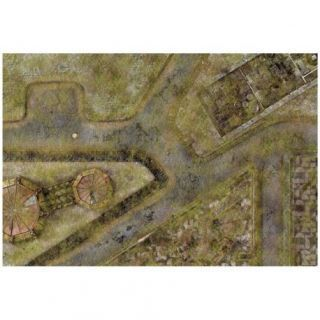 9ED 44'x30' Imperial City Jungle 1 Compatible with Warhammer, Warhammer 40K and other Wargames