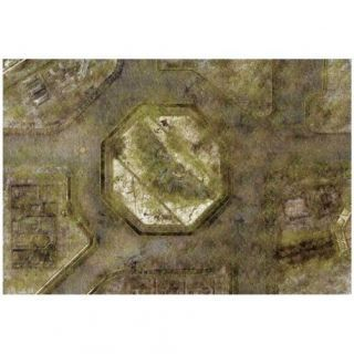 9ED 44'x30' Imperial City Jungle 2 Compatible with Warhammer, Warhammer 40K and other Wargames