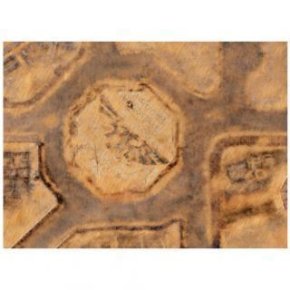 9ED 44'x60' Imperial City Desert 2 Compatible with Warhammer, Warhammer 40K and other Wargames